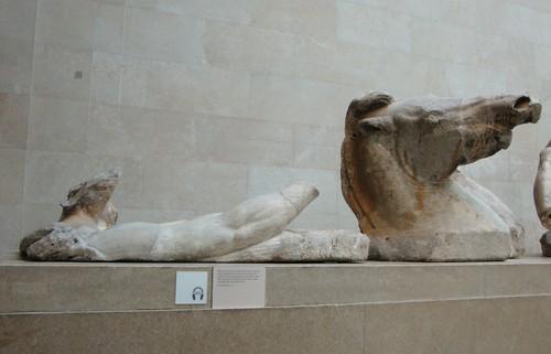 Carro di Apollo, dal timpano del Partenone (V sec. a.C.) - British Museum, Londra